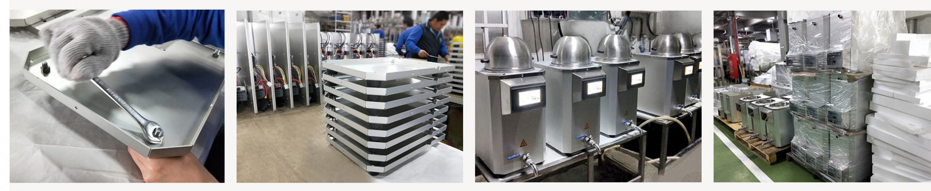 Smart Cooker packaging process